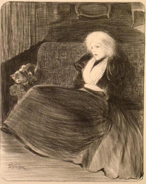 Chanson Frele, 1897 - Теофіль Стейнлен