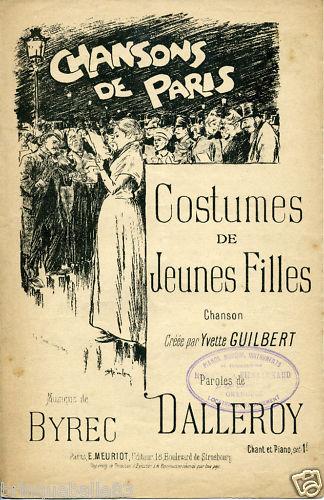 Chansons De Paris - Theophile Steinlen