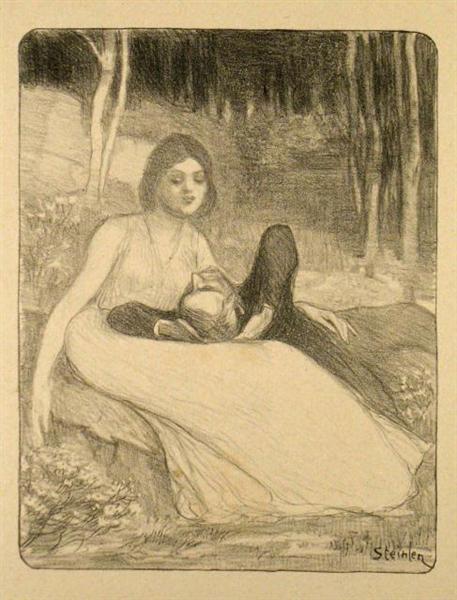 Elle, 1897 - Theophile Steinlen