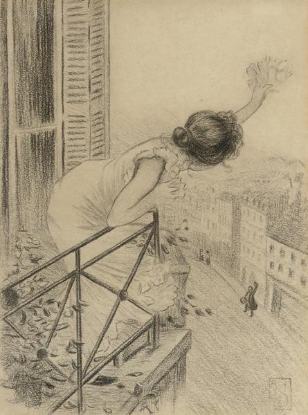 Fin de Bail, 1897 - Théophile Alexandre Steinlen