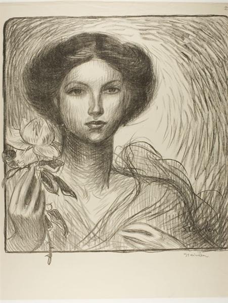Franzosische Kunstausstellung zu Krefeld, 1907 - Теофіль Стейнлен