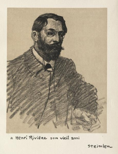 Henri Riviere, 1907 - Theophile Steinlen