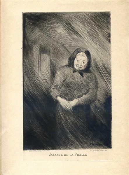Jasante de la Vielle, 1902 - Theophile Steinlen
