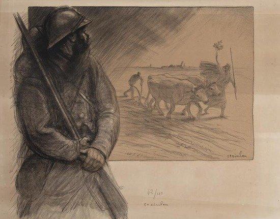 La Triennale, 1916 - Теофиль Стейнлен
