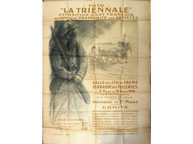 La Triennale, 1916 - Theophile Steinlen