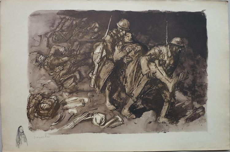 Les Camarades, 1916 - Théophile Alexandre Steinlen