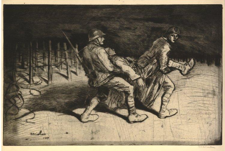 Les Camarades, 1917 - Theophile Steinlen