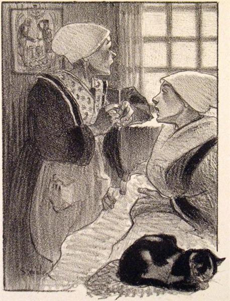 Les Femmes de France, 1897 - Theophile Steinlen