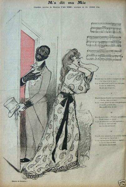 Ma Dit Ma Mie, 1895 - Theophile Steinlen