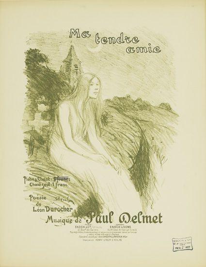 Ma Tendre Amie, 1899 - Theophile Steinlen