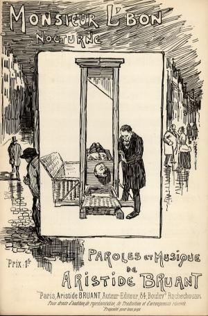 Monsieur L'Bon, 1889 - Theophile Steinlen