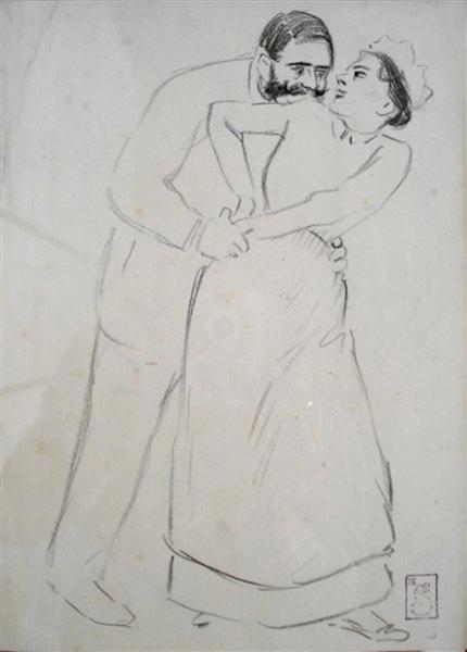 Oh my God, if we saw Mrs. - Theophile Steinlen