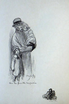 Pour Les Familles Dispersees - Theophile Steinlen