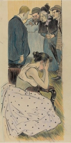 Sa Famille - Theophile Steinlen