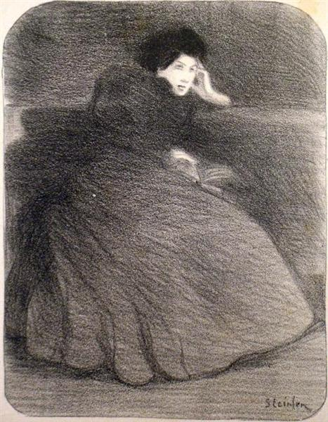 Toujours Vous, 1897 - Theophile Steinlen