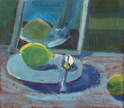 Untitled (Still Life with Lemon) - Theophilus Brown