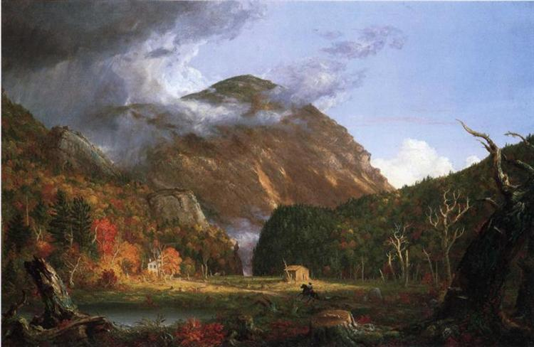 The Notch of the White Mountains (Crawford Notch), 1839 - Thomas Cole