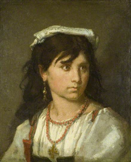 Young Italian Girl - Thomas Couture