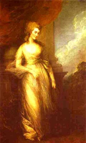 Georgiana, Duchess of Devonshire - Thomas Gainsborough
