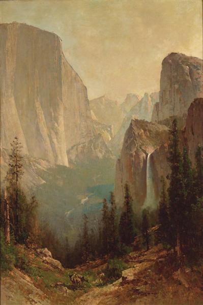 Early Morning, Yosemite Valley, 1884 - Thomas Hill