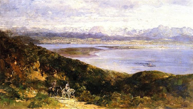 San Diego Bay from Point Loma, 1907 - Thomas Hill