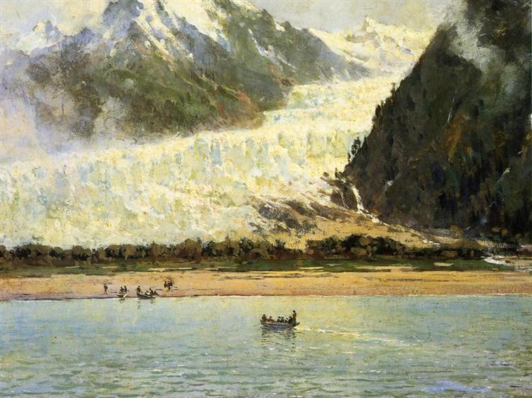The Davidson Glacier, 1888 - Thomas Hill