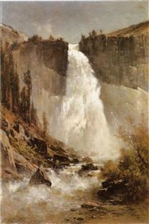 The Falls of Yosemite - Thomas Hill