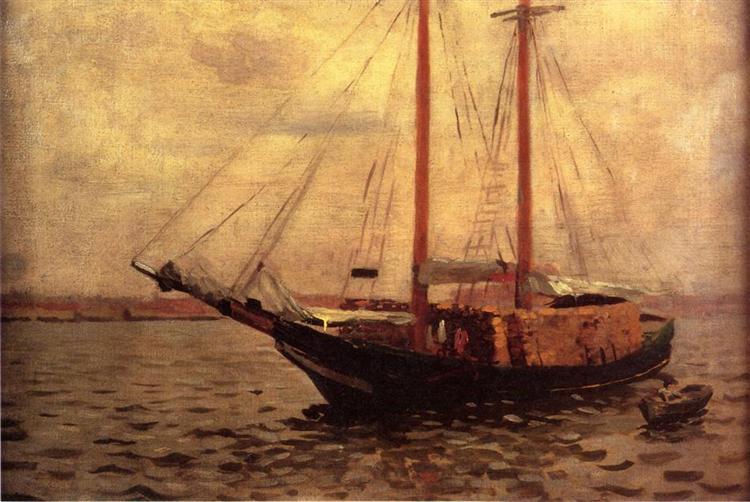 The Lumber Boat, 1897 - Thomas Pollock Anshutz