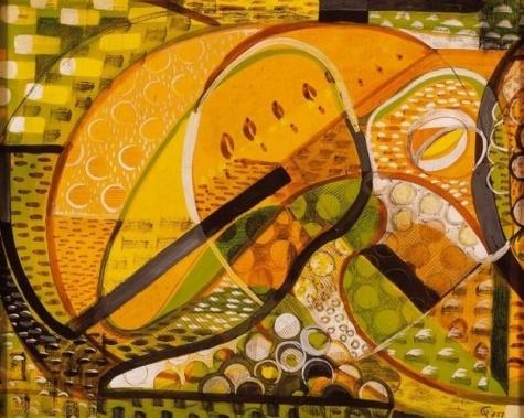 Fruits, 1951 - Tihamer Gyarmathy
