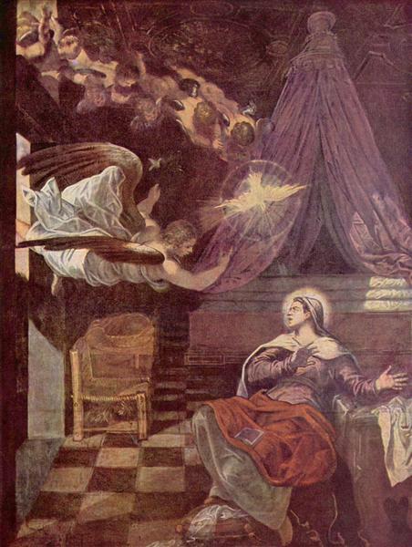 Annunciation, 1576 - 1581 - Tintoretto