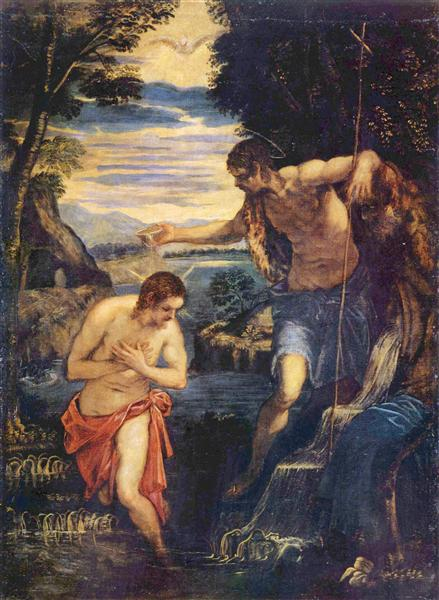 Baptism of Christ - Tintoretto
