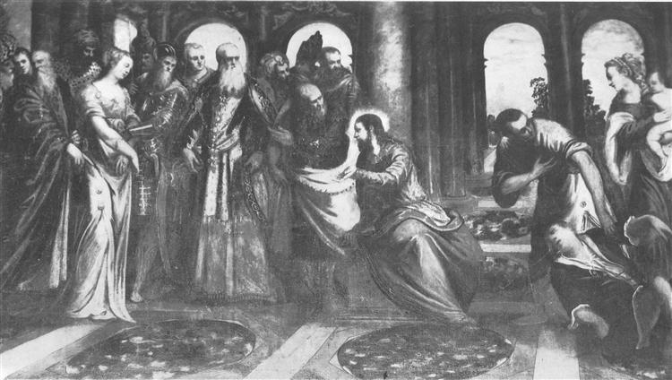 Christ - Tintoretto