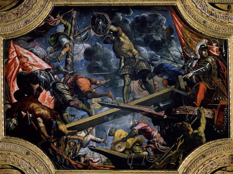 Galeas For Montes - Tintoretto