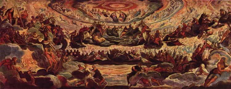 Paradise, c.1579 - Tintoretto