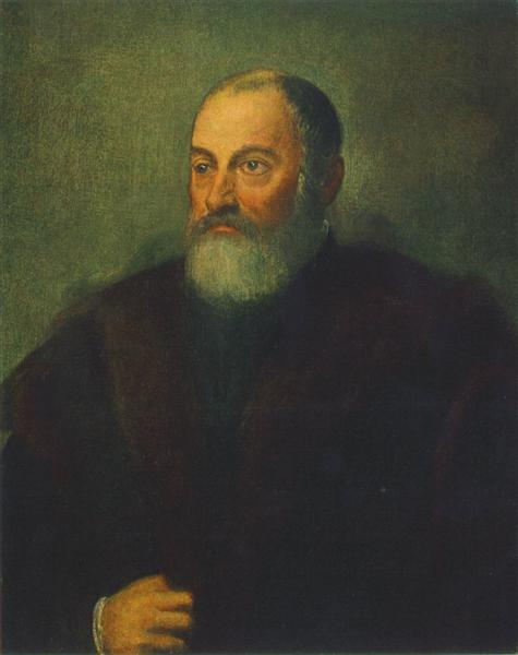 Portrait of a Man, c.1560 - Tintoretto