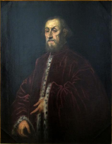Portrait of a Venetian senator, 1570 - 1580 - Tintoretto