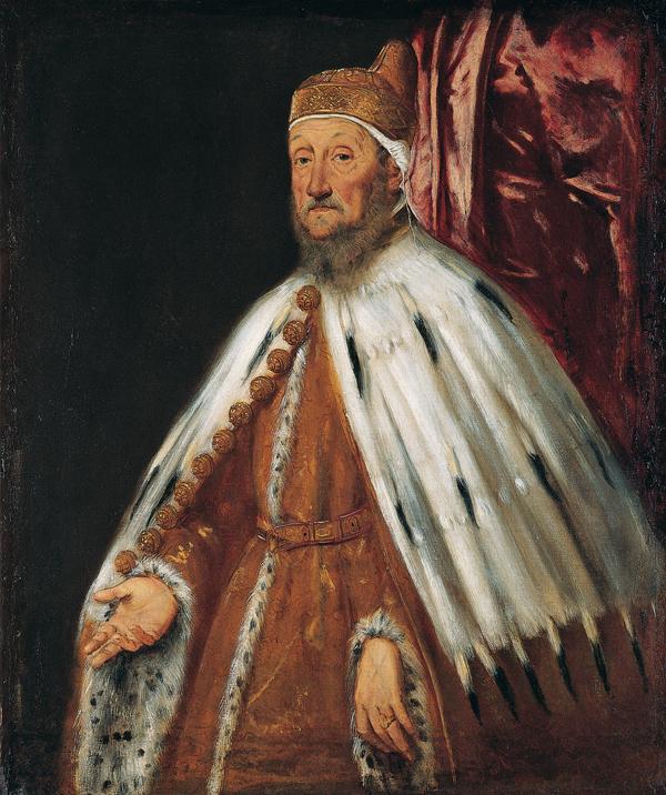 Portrait of Doge Pietro Loredan, 1567-1570