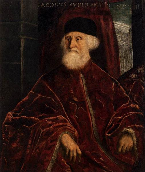 Portrait of Jacopo Soranso, c.1550 - Tintoretto