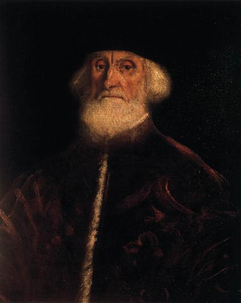 Portrait of Jacopo Soranzo, c.1550 - Тинторетто