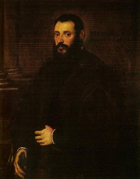 Portrait of Nicolaus Padavinus, 1589 - Tintoretto