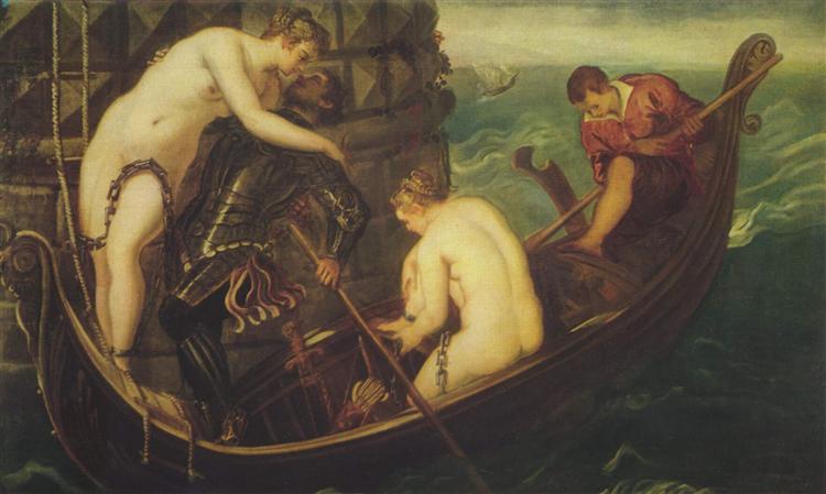Rescue of Arsinoe - Tintoretto
