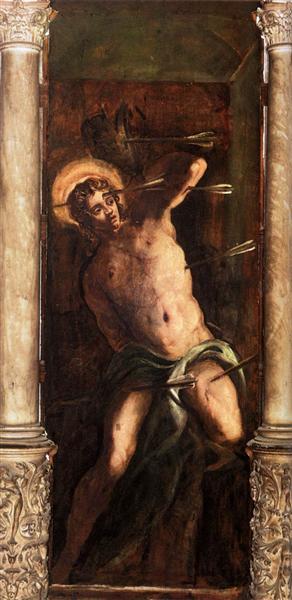 St Sebastian, 1579 - 1581 - Tintoretto