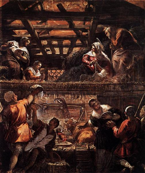 The Adoration of the Shepherds, 1578 - 1581 - Tintoretto