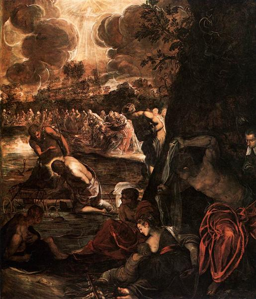 The Baptism of Christ, 1579 - 1581 - Tintoretto