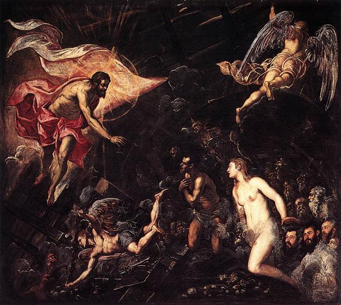 The Descent into Hell, 1568 - Tintoretto
