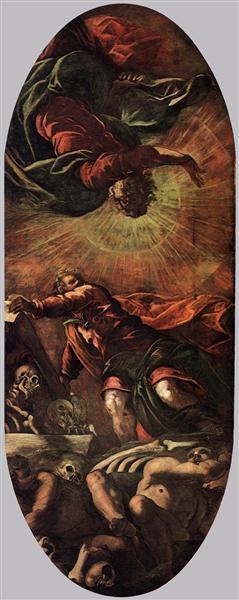 The Vision of Ezekiel, 1577 - 1578 - Tintoretto