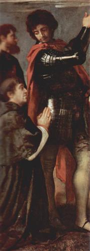 Titian (ca 1488-1576): Cellach av Armagh (1520-22)