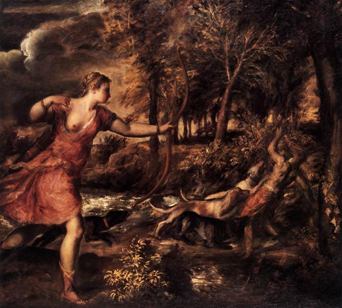 Death of Actaeon, 1559 - 1575 - Titian
