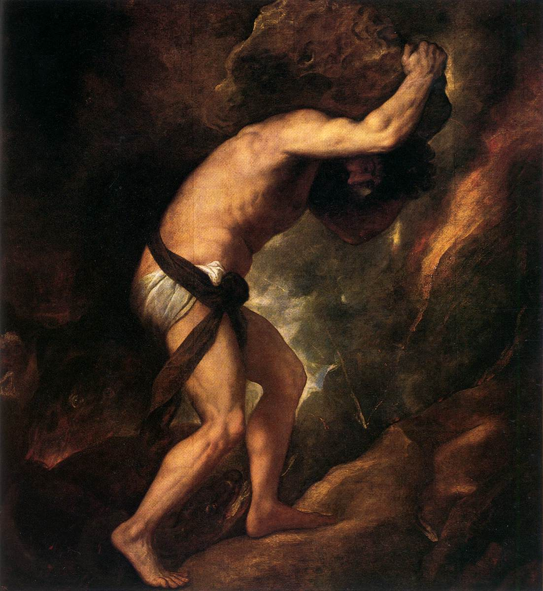 Image result for sisyphus titian
