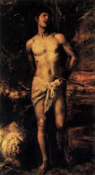 St Sebastian - Tiziano
